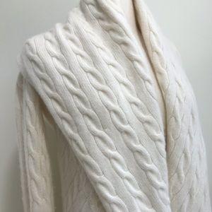 Ralph Lauren Black Label cashmere cable sweater